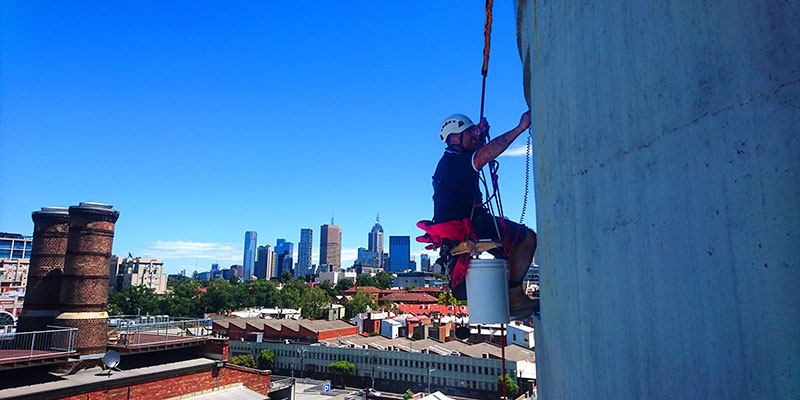 Realm PCS now offer High Rise Window Cleaning Melbourne