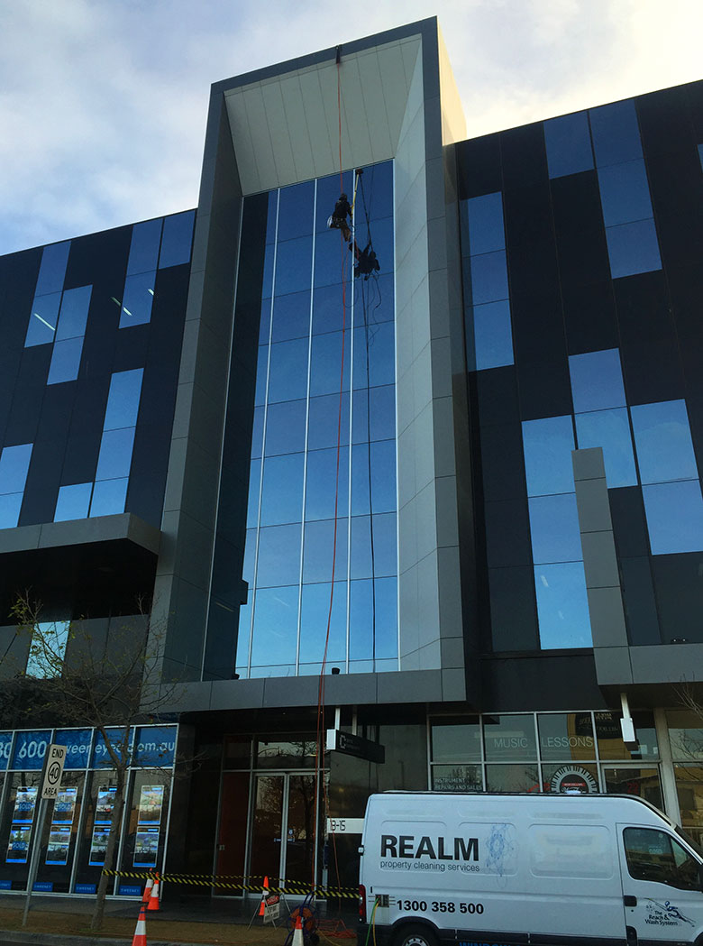 High Rise and Multi-Storey Window Cleaning Services