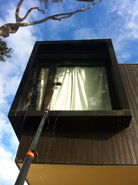 Domestic Window Cleaning for Architectural and Bayside Homes