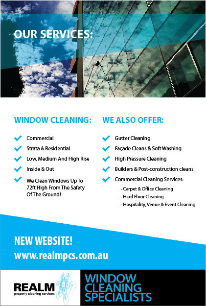 Realm Property Cleaning Services New Window Cleaning and Other Services